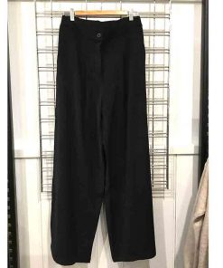 Wide leg pants - button fly