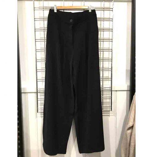Wide leg pants - button fly