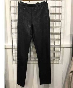 Long black pull on pants