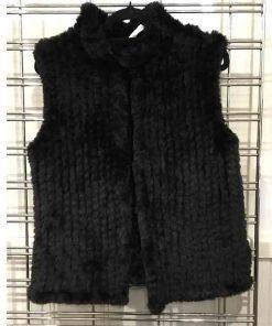 Black Fur vest